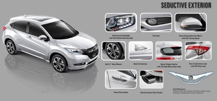 Harga Honda HR-V Makassar 2017, Spesifikasi & Gambar