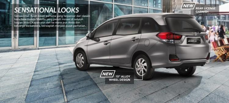 Harga Honda Mobilio Makassar 2017, Spesifikasi & Gambar