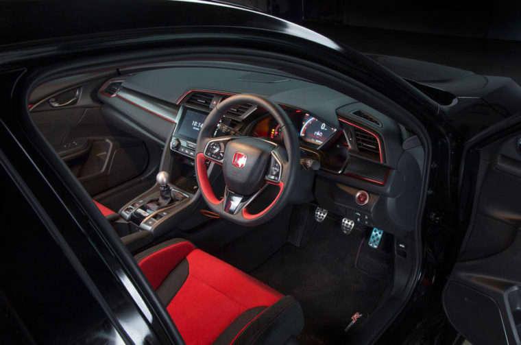 Honda Civic Type R Berlaga di BTCC